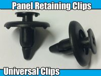 10x 7mm Clips For Toyota Fastening Interior Boot Dashboard & Trim Panel Plastic